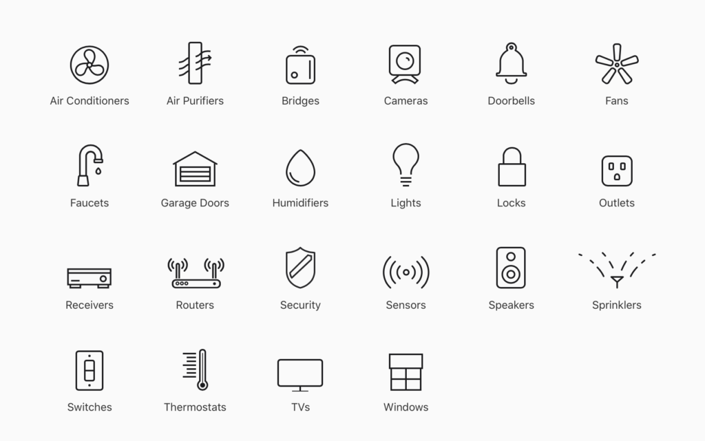 Apple HomeKit Products & Accessories